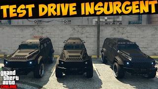 Тест-драйв трех VIP броневиков HVY Insurgent в GTA 5 Online #192