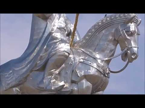 The Genghis Khan Equestrian Statue Ulaan