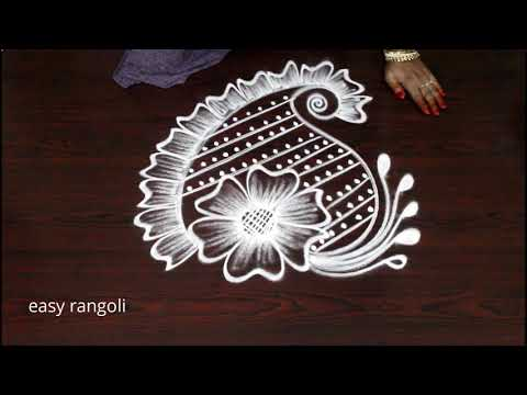 Unique & Creative Rangoli Art Designs || Amazing Freehand Kolam N Muggulu