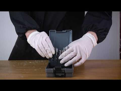 FindBuyTool Carbide Burrs OMNI Set 01 1/4 Shank, 5Pcs