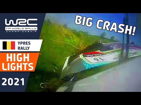 WRC 2021 WRC第8戦 ラリー・ベルギー SS1-4のハイライト動画