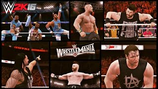 WWE 2K16 Montage: Royal Rumble Promo