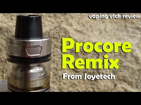 YouTube Video zu Joyetech ProCore Remix RTA/RDA/Subohm Verdampfer 2/4.5 ml