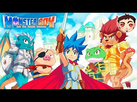 Gameplay de Monster Boy and the Cursed Kingdom