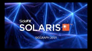 SideFX Solaris Reveal | SIGGRAPH 2019