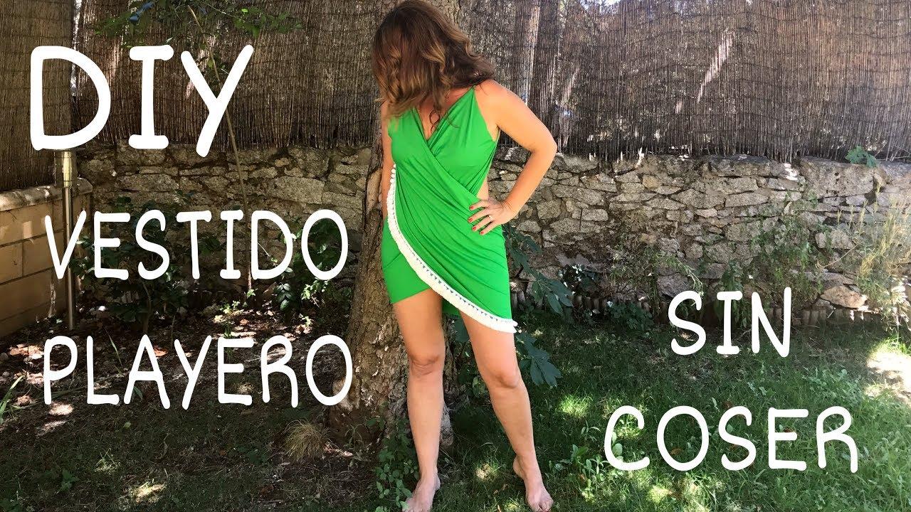 DIY Hazte un vestido playero SIN COSER Espectacular