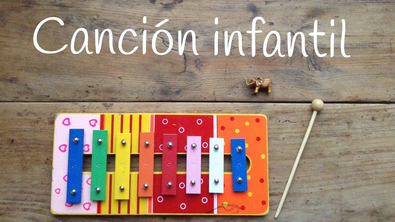 Canciones infantiles con Xilófono: Un elefante se balanceaba - Cómo tocar el xilófono