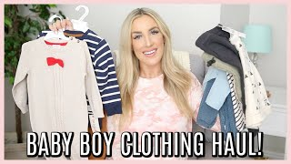 HUGE BABY BOY FALL CLOTHING HAUL! CUTE TODDLER CLOTHES! | OLIVIA ZAPO