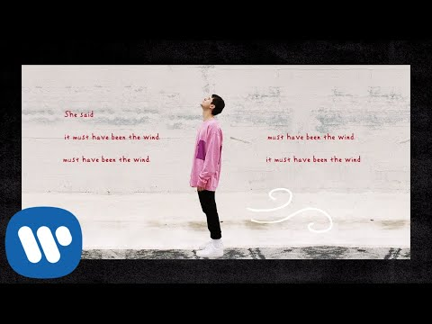 Alec Benjamin - Must Have Been The Wind [Official Lyric Video]