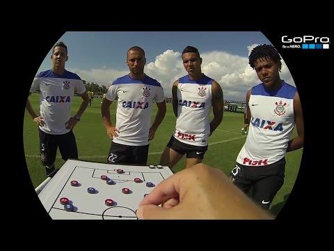 Como é um treino do Corinthians