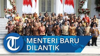 VIDEO: Jokowi Melantik Para Menteri di Istana Negara, Disebut 'Kabinet Indonesia Maju'