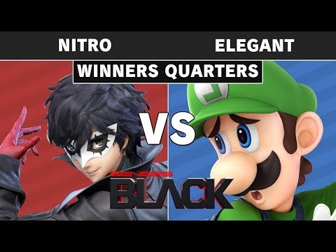 Genesis Black - Nitro (Joker) Vs NVR   Elegant (Luigi) Winners Quarters - Smash Ultimate