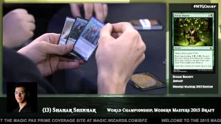 2015 Magic World Championship: Opening and Drafting with Shahar Shenhar