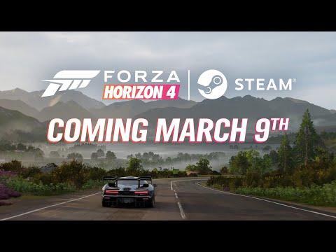 《極限競速 地平線 4》將於3月9日登陸Steam 可跨平台與朋友連線