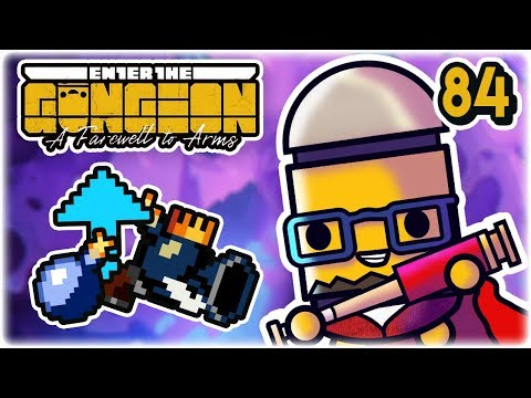 King Ice Bomber Synergies | Part 84 | Let's Play: Enter the Gungeon: Farewell to Arms | PC HD