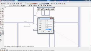 Sketchup Tutorial Doors & Sketchup Modeling Villa How To