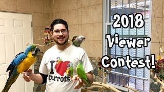 Parrot Wizard Video Watchers Contest 2018