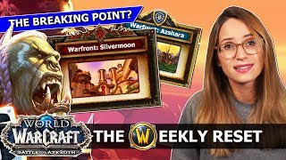 Has BfA Blown It? Will 8.1 Save It? New Warfronts & The Siege Of Silvermoon: WoW News