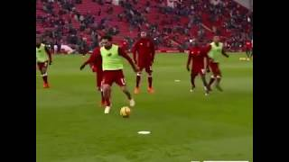 Mo Salah Skills In Training - Unstoppable