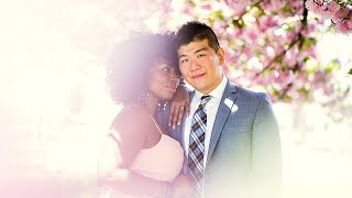 The Liberty House New Jersey Interracial Blasian Engagement Session