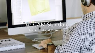 ArtCAM Standard: Project Two (Bitmap-to-Vector)