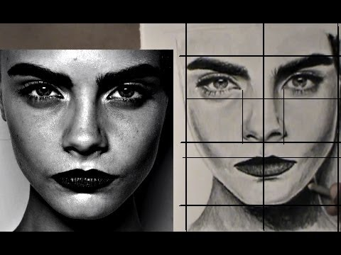 EASY WAY TO DRAW A REALISTIC FACE
