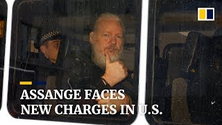WikiLeaks Founder Julian Assange Indicted Under US Espionage Act, Faces Up To 170 Years In Prison