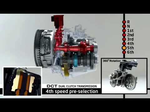 Kia DCT с двойным сцеплением передачи Kia Ceed 2012
