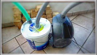 Μετατρέψτε την παλιά ηλεκτρική σκούπα σε χρήσιμο εργαλείο.Turn old vacuum cleaner into a useful tool