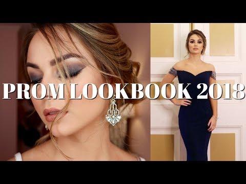 PROM 2018 THREE DIFFERENT LOOKS! - HAIR, MAKEUP, DRESS - EJB