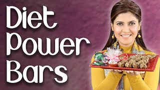 Diet Power Bars / Energy Balls / Healthy Bars - Ghazal Siddique