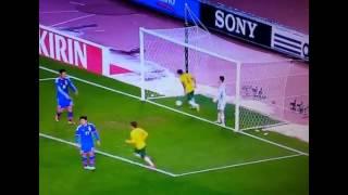 日本vsオーストラリアハイライトケーヒル1点目2014/11/18CahillJapanvsAustraliahighlights