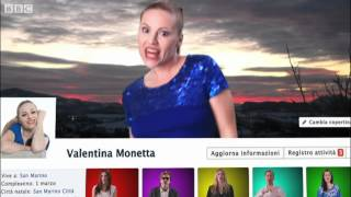 "San Marino: ""The Social Network Song"" - Eurovision Song Contest 2012 - BBC One"