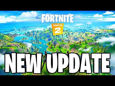 FORTNITE UPDATE V11.11 Countdown + Gameplay (FORTNITE CHAPTER 2)