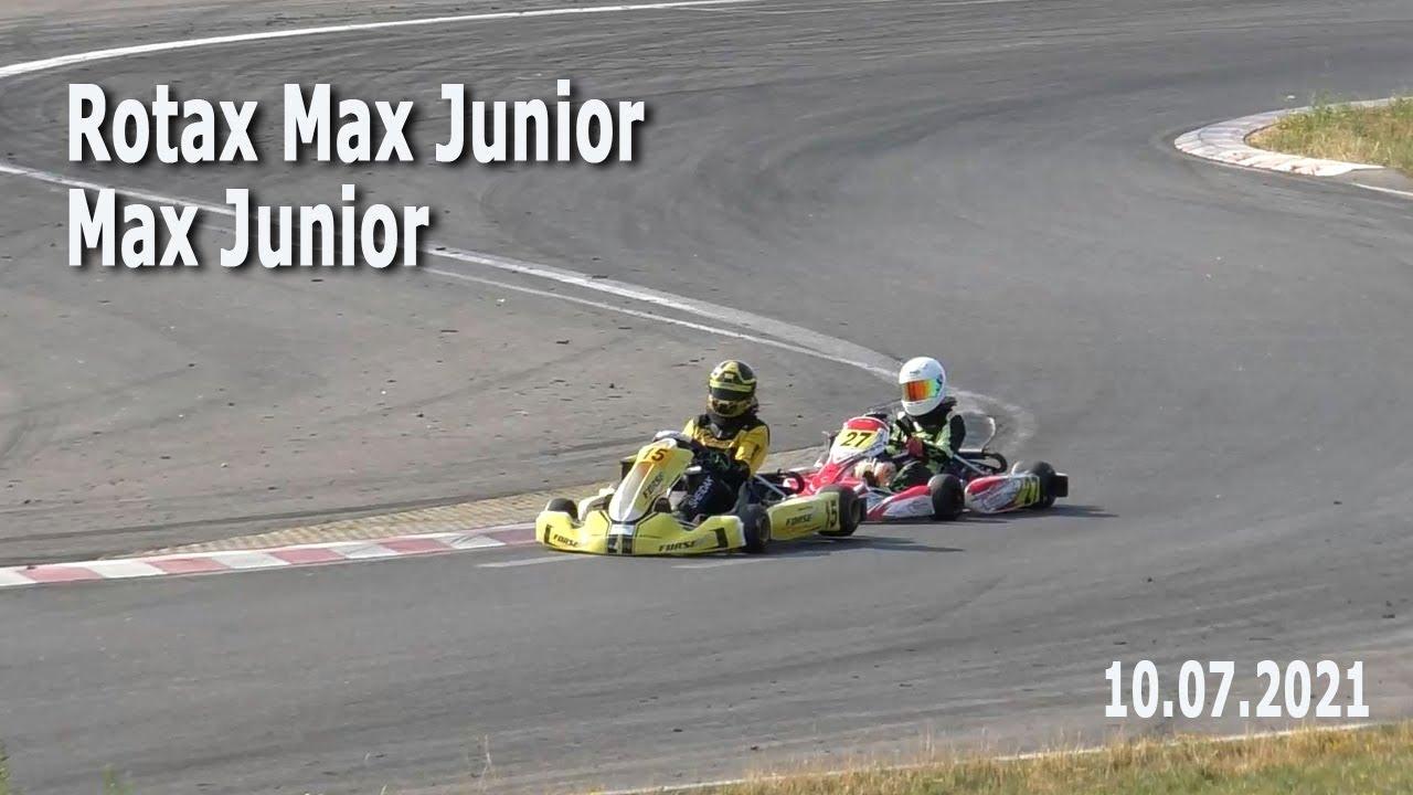 Картинг 2021. Rotax Max Junior, Max Junior – финал / Соревнования по картингу. 10.07.2021