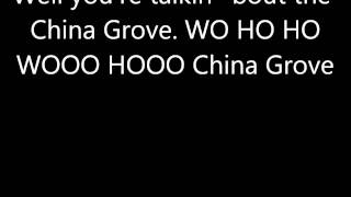 China Grove by the Doobie Brothers (with lyrics)