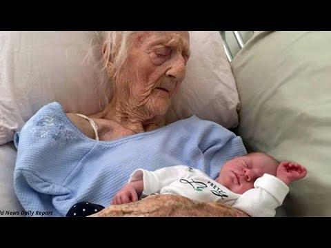ШОК! Женщина родила в 101 год/Любопытные факты (видео)