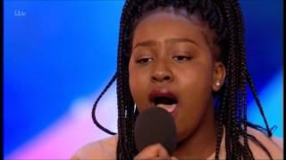 BGT 2017 AUDITIONS - SARAH IKUMU SINGS AND I AM TELLING YOU (JENNIFER HUDSON)