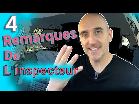 COMPRENDRE LES REMARQUES DE L'INSPECTEUR - 4 EXEMPLES
