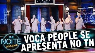 The Noite (15/09/15) - The Voca People se apresenta no The Noite
