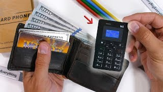 Micro M5 Durability Test - This phone fits in a WALLET
