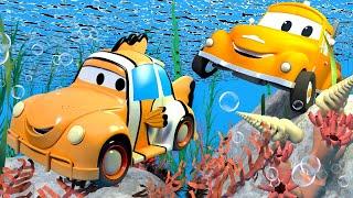 Autogaráž pro děti - Z Henryho je rybka Nemo - Tomova Autolakovna ve Městě Aut