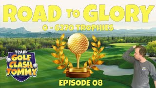 Golf Clash LIVESTREAMING, Road To Glory - 0-6270! Lets continue the Journey!