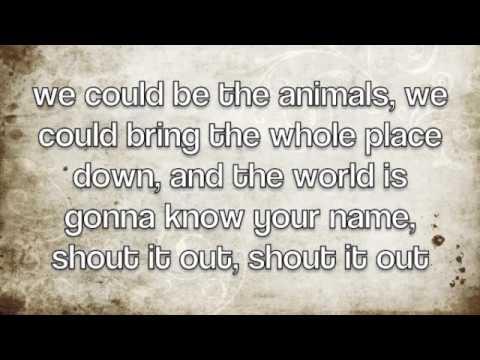 Animals - Mark Owen (lyrics)