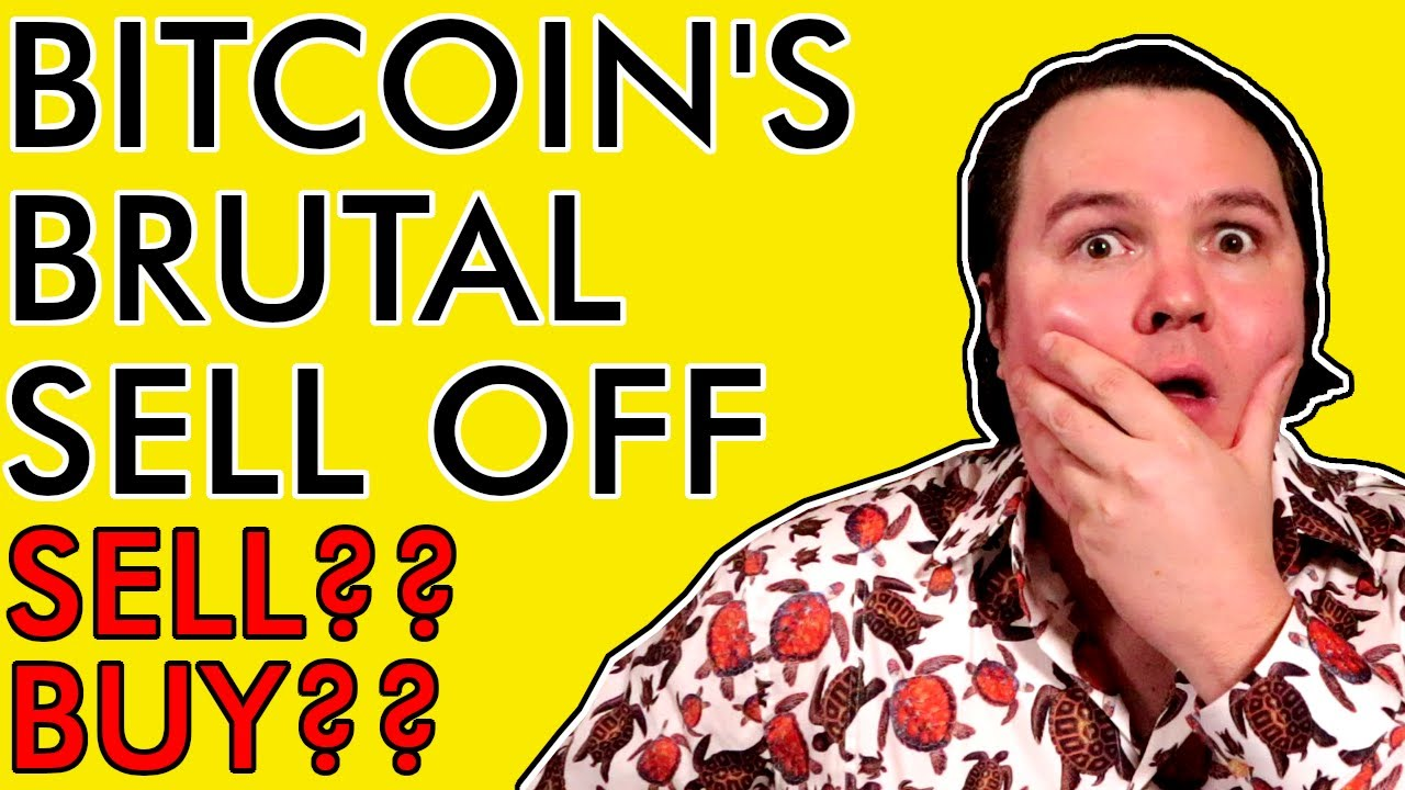 BITCOIN'S BRUTAL SELL OFF EXPLAINED! IS IT TIME TO BUY OR SELL CRYPTO?