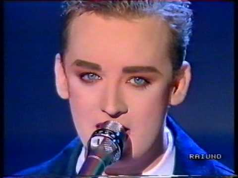 Boy George - Don't Cry - DOMENICA IN  1988