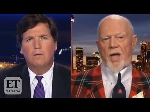Don Cherry Appears On Fox News' Tucker Carlson