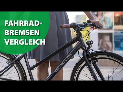 B.O.C. Fahrradbremsen-Test/Bremsen-Vergleich (Scheibenbremse vs. Felgenbremse vs. Rücktrittbremse)
