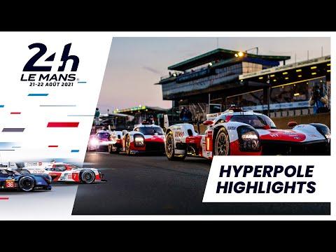 可夢偉組7号車トヨタがポール ル・マン24時間 ハイパーポールのハイライト動画