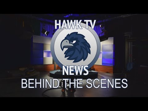 "Thumbnail for video called ""Behind The Scenes of Hawk TV News 2017"""